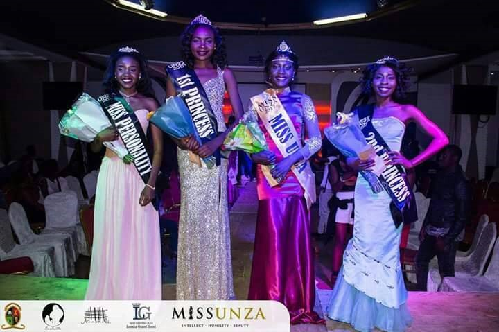 Miss Unza beauty pagent